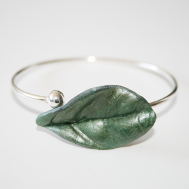 Pulsera Magic Leaves sylvery green