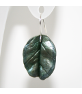 Pendientes Magic Leaves-sylvery green