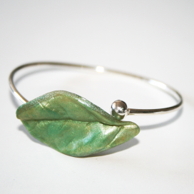 Pulsera Magic Leaves- light green