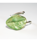 Anillo Magic Leaves- light green
