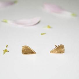 Pendientes Petals gold pequeños